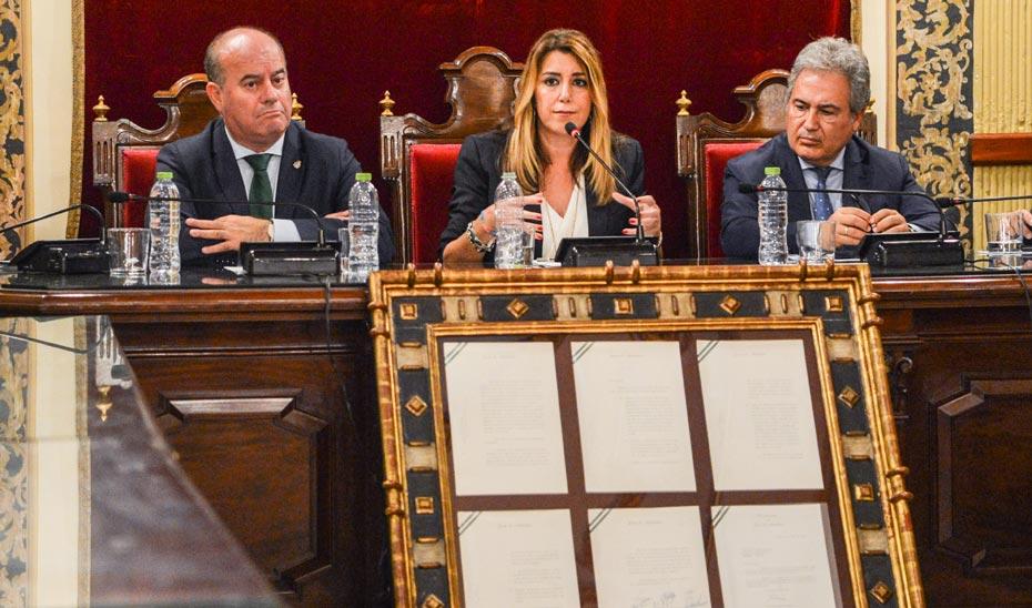 Intervención de la presidenta de la Junta en las jornadas por el 40 aniversario del Pacto de Antequera