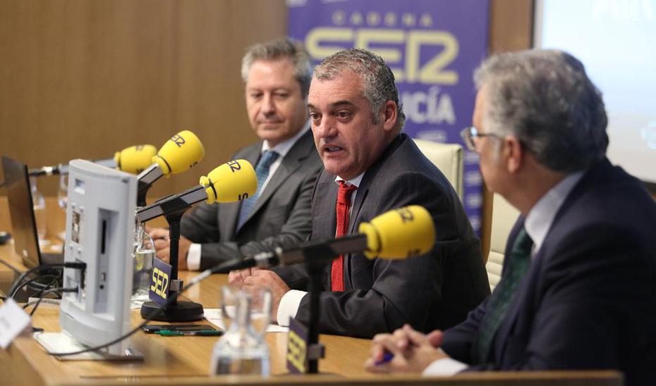 Javier Carnero, durante su intervención en los Encuentros SER.