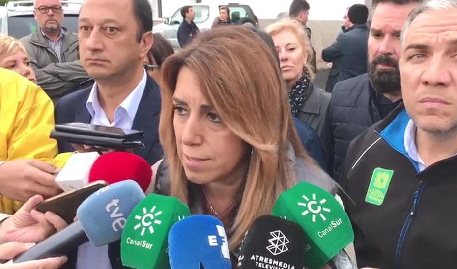 Díaz pide a la ciudadanía prudencia y colaboración con las fuerzas de seguridad con el temporal