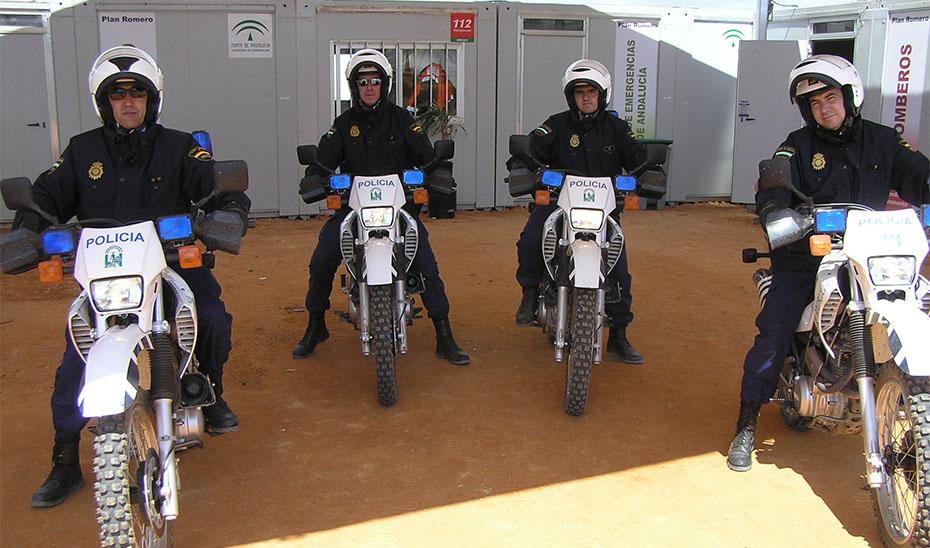 La Unidad de Polícia Adscrita a la Junta celebra su 25 aniversario.