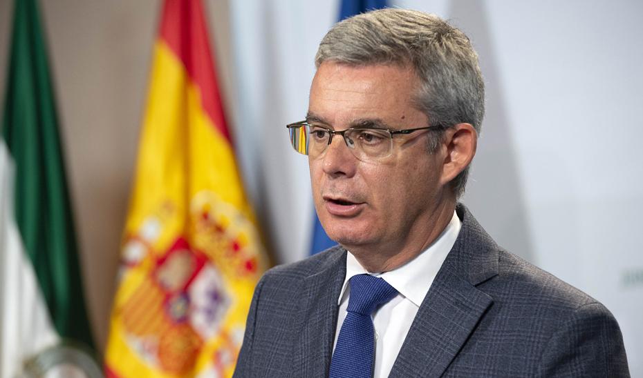 Blanco traslada el agradecimiento del Gobierno andaluz por la respuesta coordinada de instituciones y ciudadanía ante las lluvias