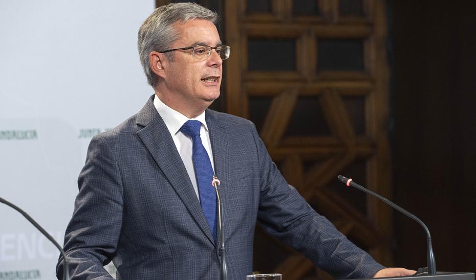 Blanco resalta que Andalucía capta en los mercados financieros internacionales 600 millones
