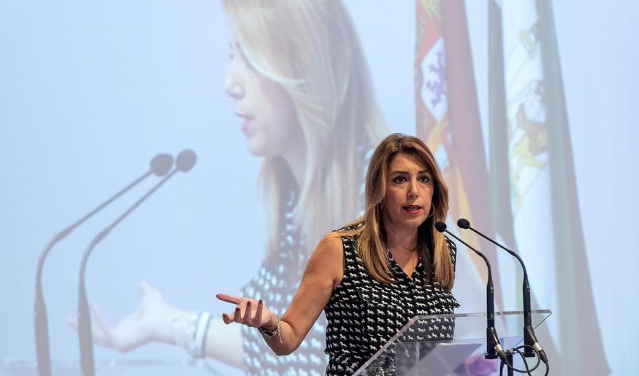 Intervención de Susana Díaz en la inauguración del 13º Congreso y 7º Internacional Virtual de Enfermería Familiar y Comunitaria en Sevilla