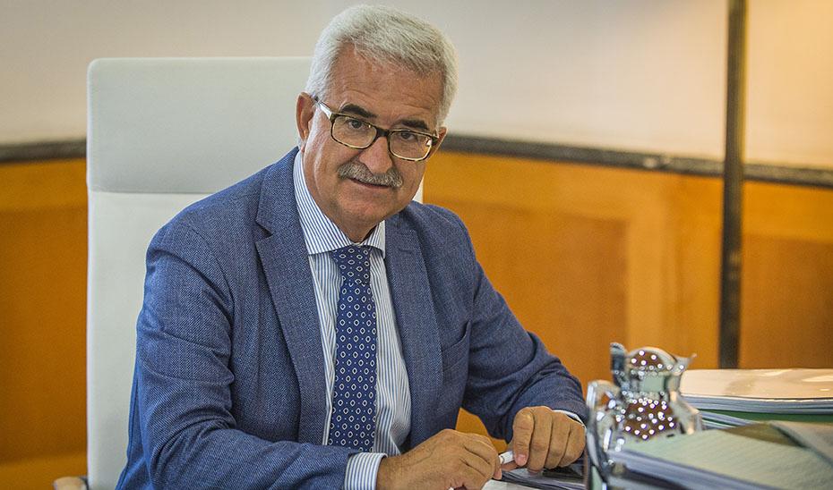 El vicepresidente de la Junta, Manuel Jiménez Barrios.