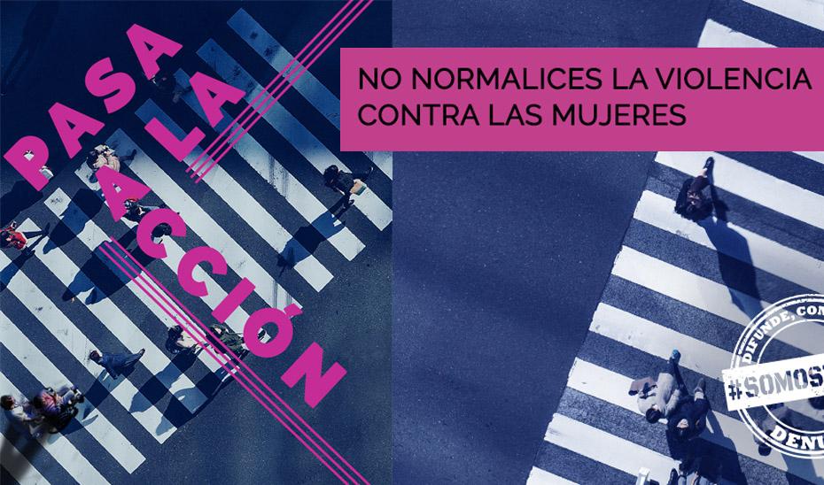 Campaña institucional contra la violencia de género en Andalucía