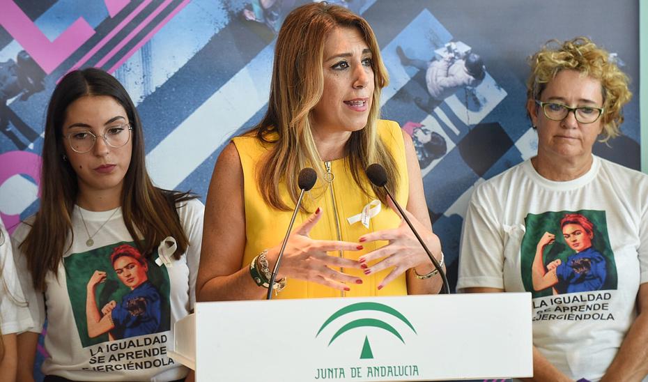 Intervención de Susana Díaz en la presentación de la campaña institucional contra la violencia de género
