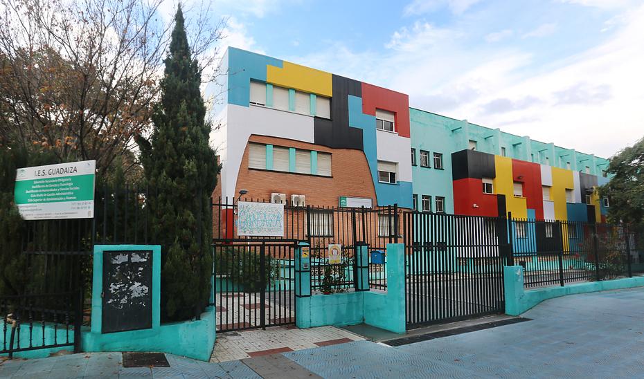 Instituto de Educación Secundaria Guadaiza, en San Pedro de Alcántara, Marbella (FOTO IES GUADAIZA).
