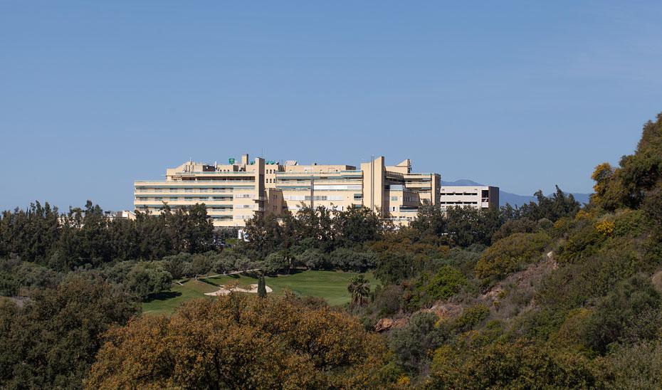 Vista general del Hospital Costa del Sol de Marbella.