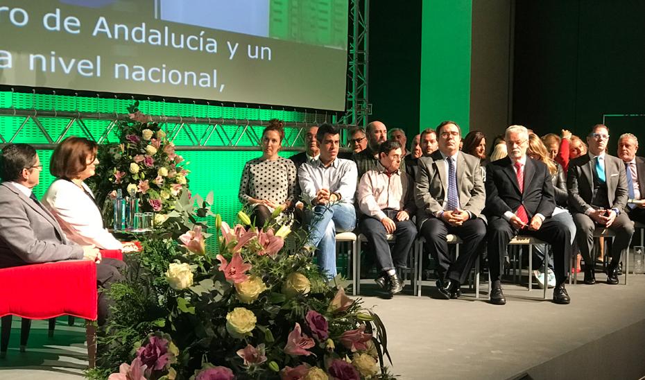 María José Sánchez Rubio ha presidido en Sevilla la entrega de las distinciones \u0027Andalucía más Social\u0027.
