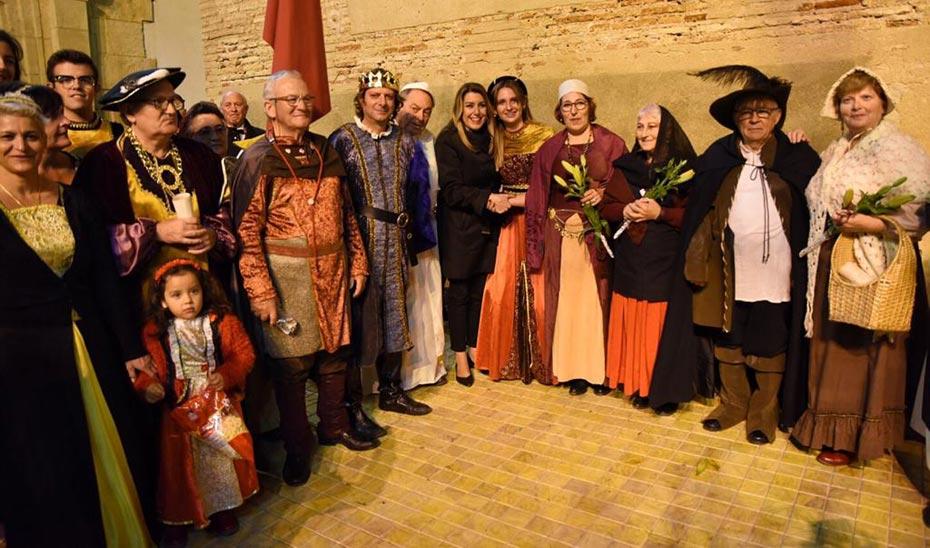 La presidenta, en el V Centenario del terremoto que sufrió Vera en 1518.