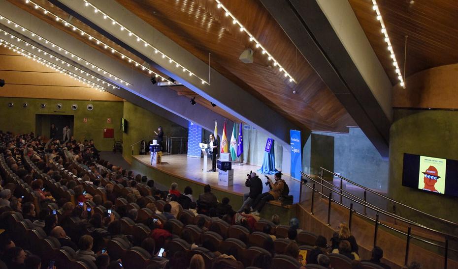 Intervención de Susana Díaz en I Congreso de Motivación y Diversidad, 'La diferencia como oportunidad', en el Foro Iberoamericano de La Rábida