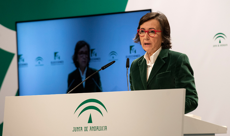 Comparecencia segundo avance de participación Elecciones Andalucía 2018