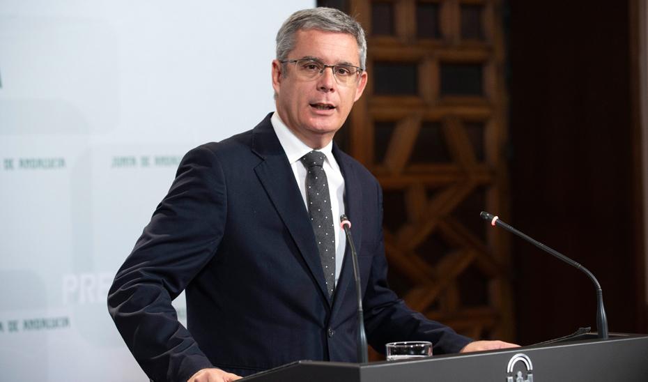 Blanco informa sobre el decreto que fija los criterios de la prórroga del Presupuesto autonómico para 2019