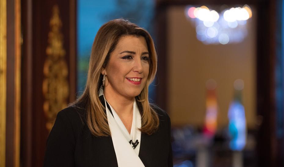 Mensaje de Fin de Año 2018 de la presidenta de la Junta en funciones, Susana Díaz