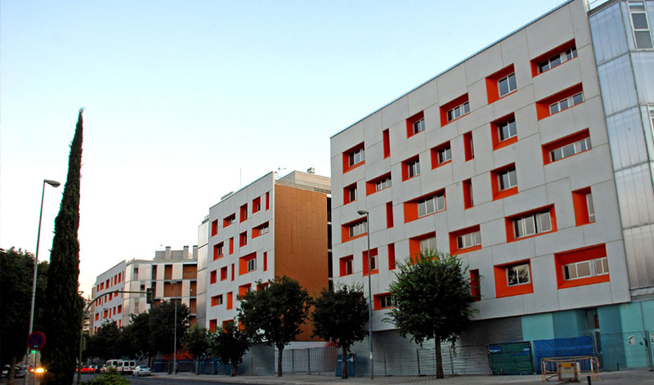 Alojamientos públicos promovidos por la Junta en el barrio de San Bernardo de la capital hispalense.