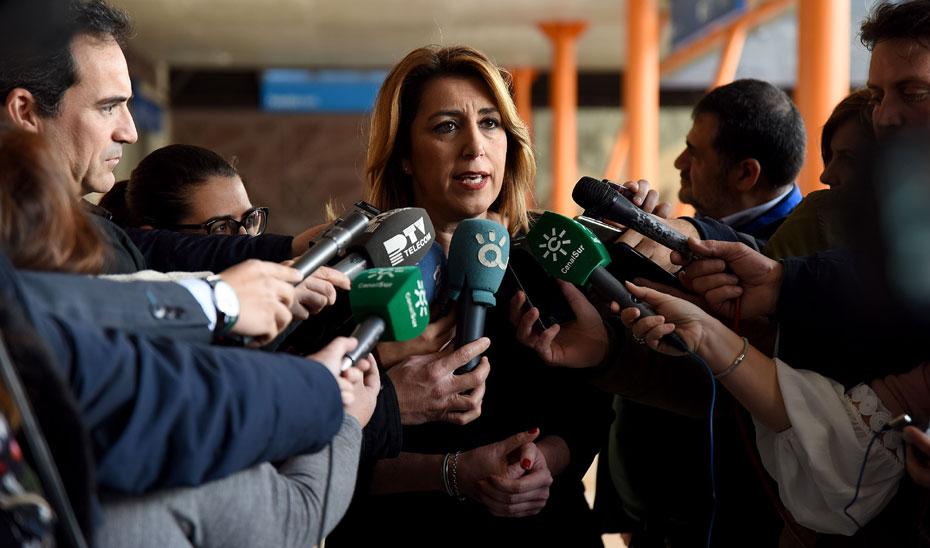 Díaz apela al compromiso del Ayuntamiento de Málaga para evitar demoras con el Metro