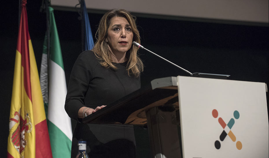 Intervención de Susana Díaz en la inauguración del VII Foro Europeo para la Ciencia, Tecnología e Innovación, Transfiere 2018