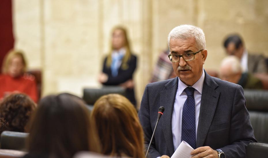 Jiménez Barrios insta al Gobierno a dejar de