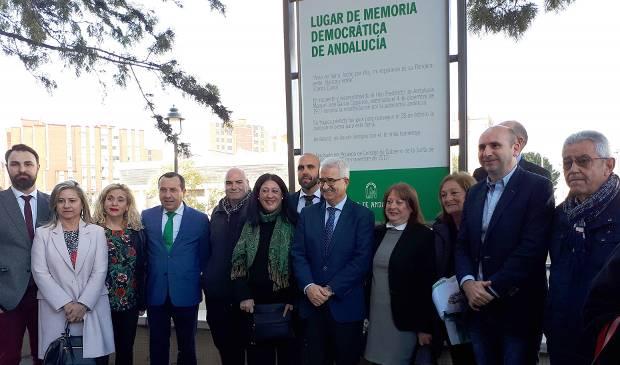 Andalucía homenajea a García Caparrós con un Lugar de Memoria Democrática
