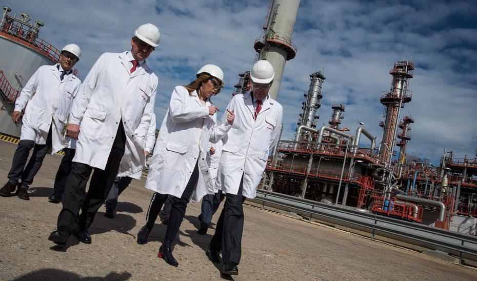 Díaz garantiza su apoyo a las inversiones empresariales que apuesten por Andalucía