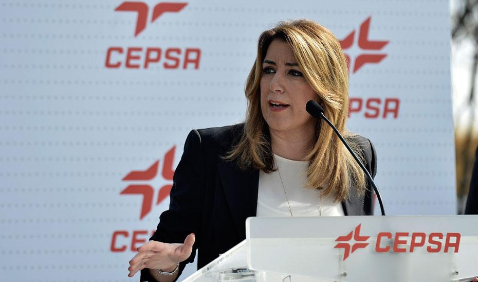 Intervención de Díaz en la inauguración de la nueva planta de optimización de aromáticos en Cepsa