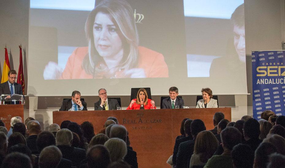 """Díaz destaca que las Medallas de Andalucía reconocen """"el talento y la potencia de esta tierra"""""""