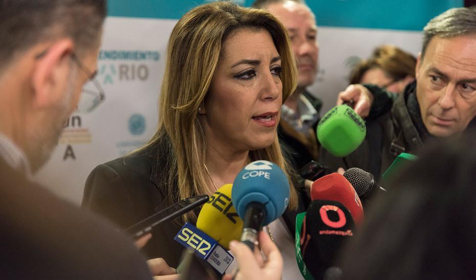 Díaz confía en un acuerdo unánime de financiación en la defensa de Andalucía