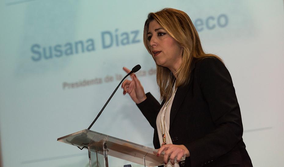 Intervención de Susana Díaz en el II Congreso de Emprendimiento Universitario en Córdoba