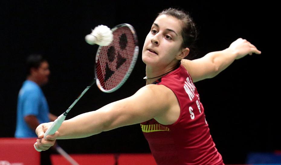 Carolina Marín intentará proclamarse por cuarta vez campeona de Europa, esta vez Huelva, su tierra natal.