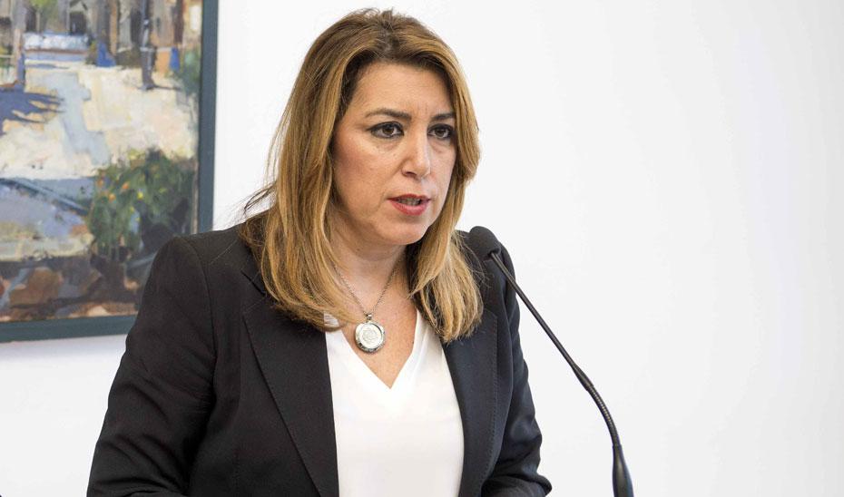Intervención de Susana Díaz en su visita a La Línea de la Concepción