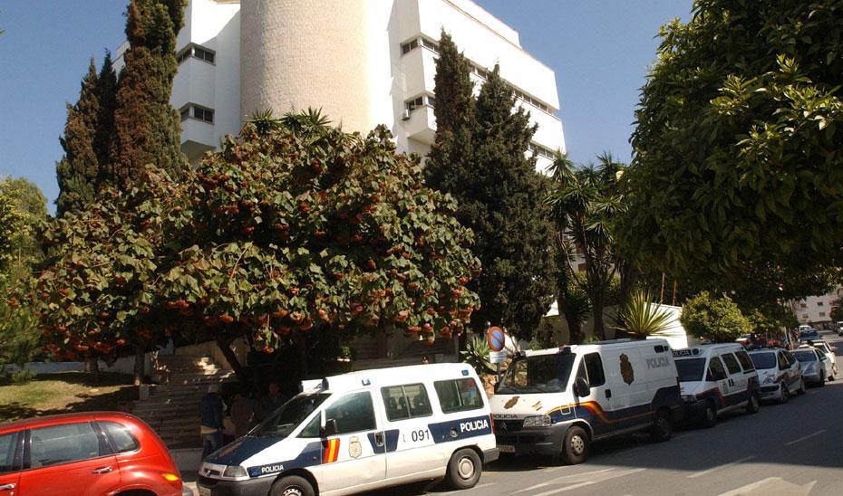 Juzgados antiguos de Marbella. (Foto EFE)