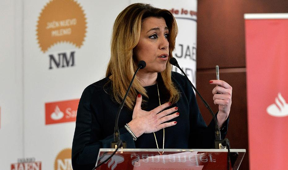 Intervención de la Presidenta de la Junta de Andalucía sobre las pensiones