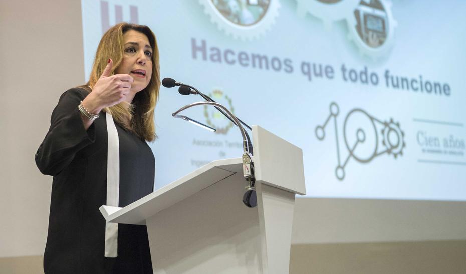 Intervención de Susana Díaz en el Centenario del Colegio de Ingenieros