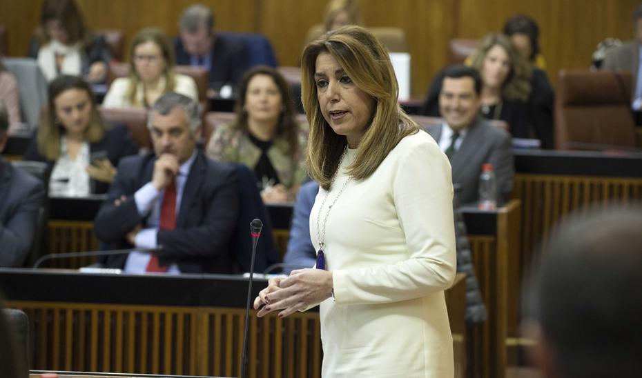 """Díaz: """"La propuesta andaluza de financiación autonómica persigue un modelo justo y solidario"""""""