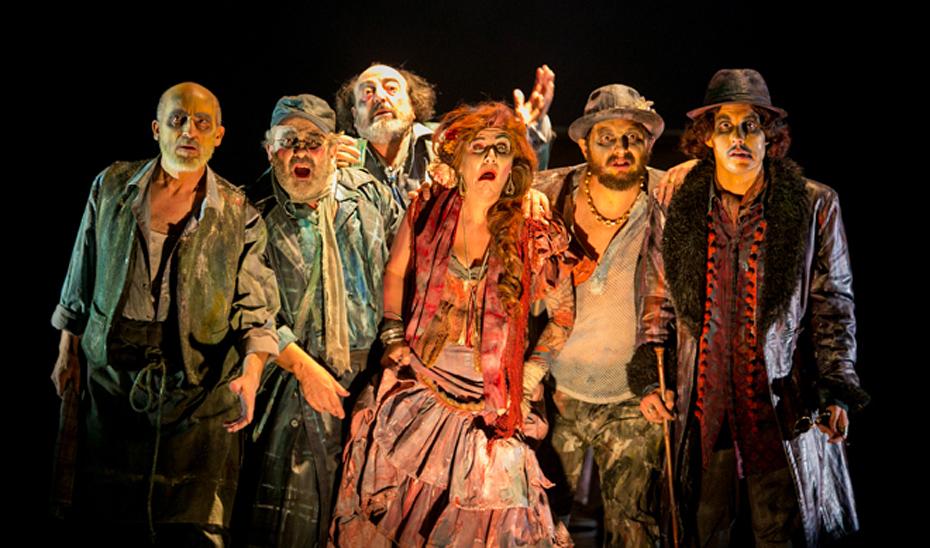 \u0027Luces de Bohemia\u0027, de la compañía Teatro Clásico de Sevilla, la principal galardonada en los Premios Lorca de Teatro Andaluz 2018.