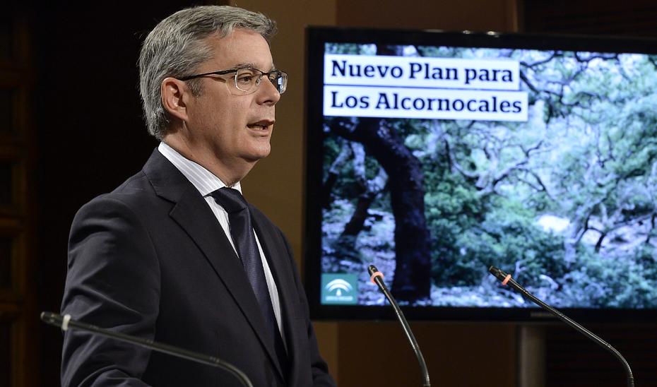 Blanco explica el II Plan de Desarrollo Sostenible de Los Alcornocales, con 46 millones para sus tres primeros años