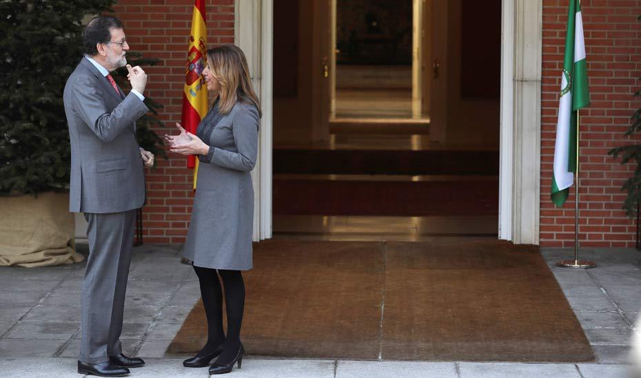 Díaz logra el compromiso de Rajoy de convocar el CPFF para abordar la financiación autonómica