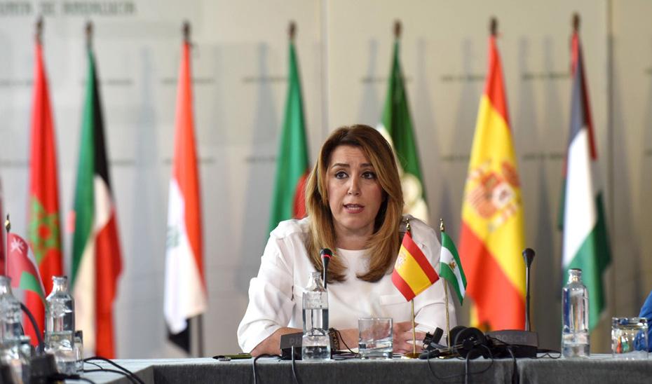 """Díaz destaca el trabajo conjunto de Andalucía con los países árabes por la """"tolerancia y la convivencia"""""""