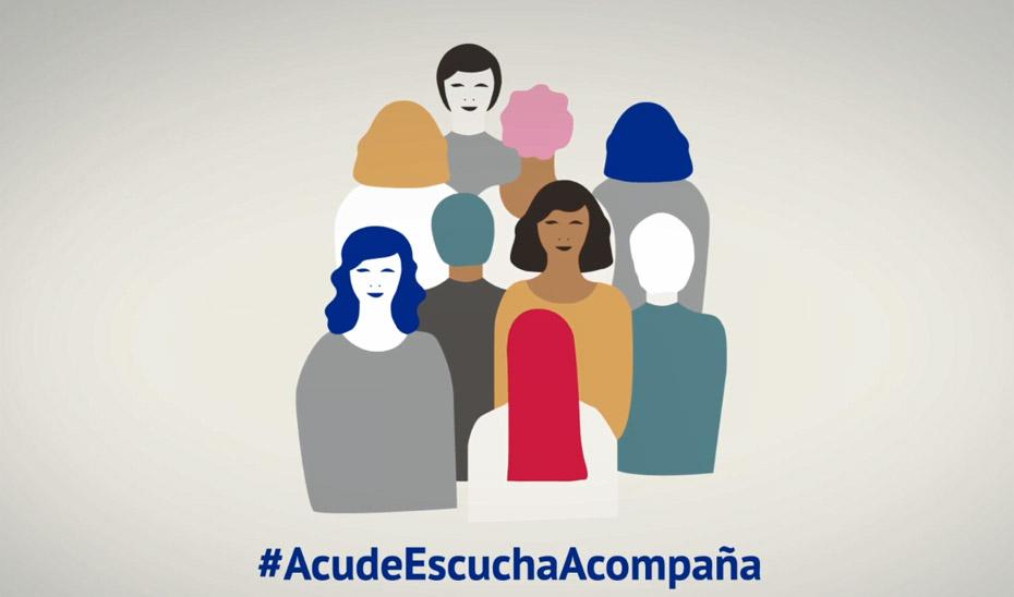 Campaña contra las agresiones sexuales AcudeEscuchaAcompaña