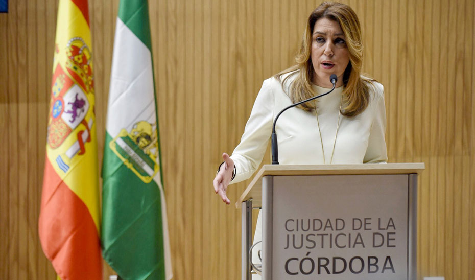 Díaz reafirma el compromiso de la Junta con la mejora de las infraestructuras judiciales