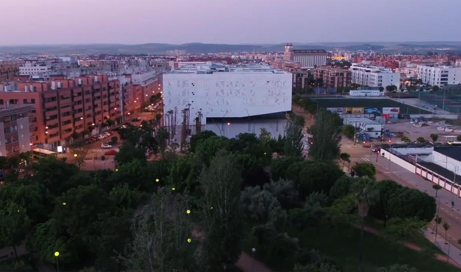 Vista aérea de la nueva Ciudad de la Justicia de Córdoba, que ha permitido ahorrar en alquileres.