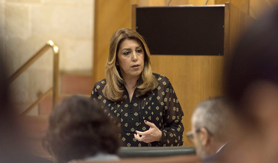 Díaz asegura que Andalucía garantizará por ley la subida del complemento a las pensiones mínimas, no contributivas y asistenciales