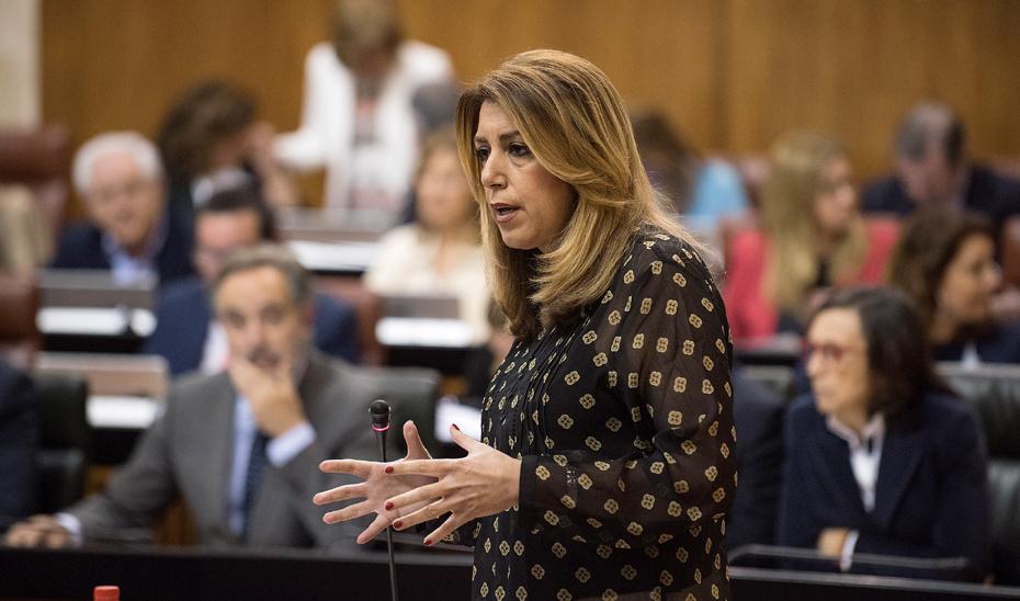 Díaz anuncia su comparecencia sobre política general ante el Parlamento el próximo 9 de mayo