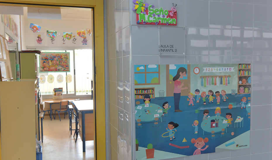 Aula de Educación Infantil.