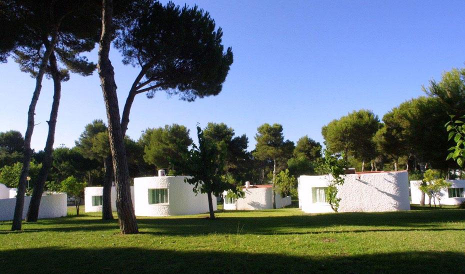 Fachada de la residencia de tiempo libre de la localidad costasoleña de Marbella.
