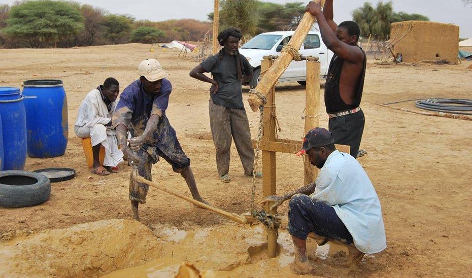 Proyecto de cooperación internacional al desarrollo andaluz en Mauritania.