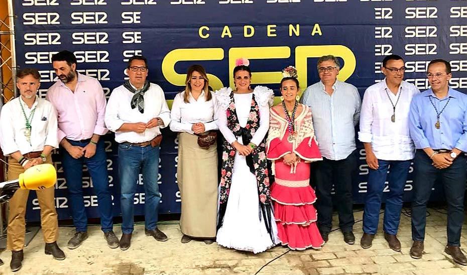 La Junta recibe el Premio Tamborilero por su promoción de El Rocío como destino turístico