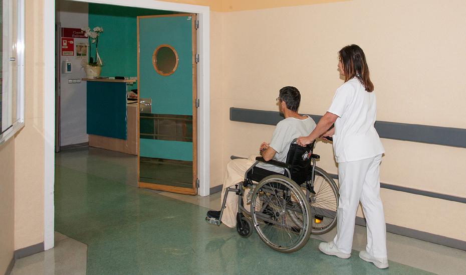 Unidad de lesionados medulares del Hospital Virgen del Rocío de Sevilla.