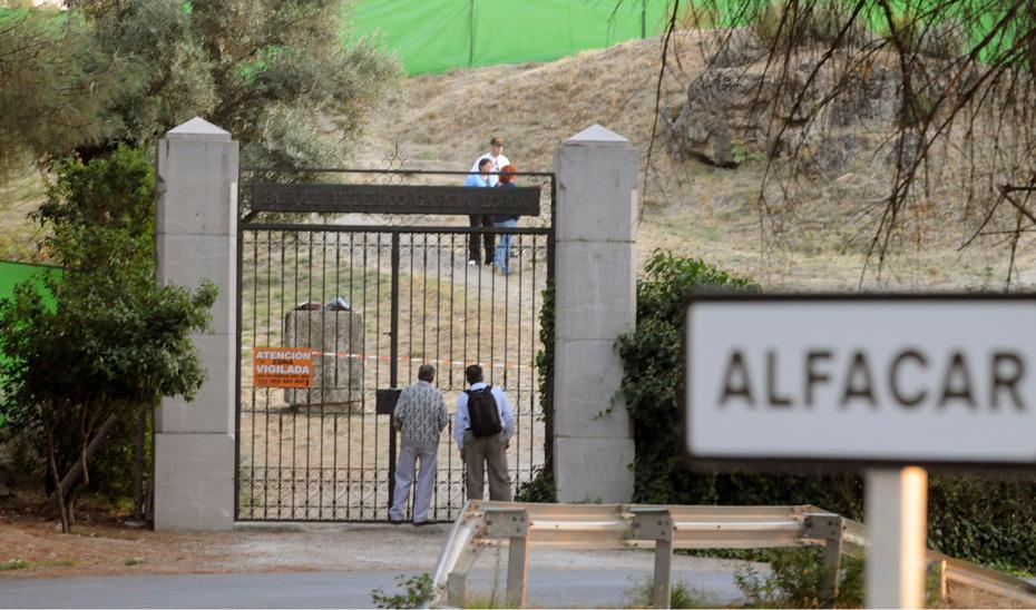 Terrenos del parque de Alfacar (Granada) EFE.