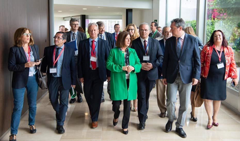 El 26º Congreso Europeo de Servicios Sociales en reconocimiento a las políticas y leyes sociales pioneras de la Junta.